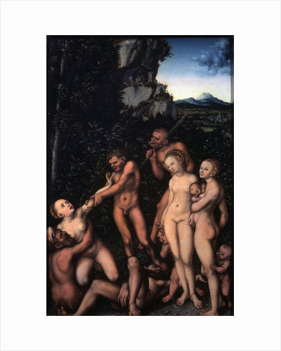 Fruits of Jealousy, (The Silver Age), 1530 by Anonymous