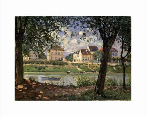 Villeneuve-la-Garenne (Village on the Seine), 1872. by Alfred Sisley