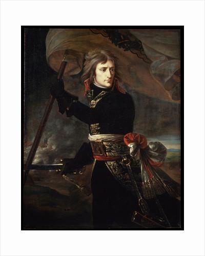 Napoleon Bonaparte on the Bridge at Arcole, 1797. by Antoine-Jean Gros