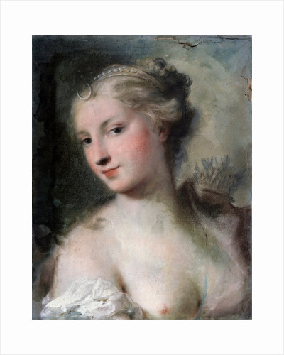 Diana, after 1746. by Rosalba Giovanna Carriera