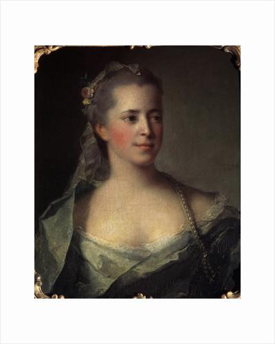 Portrait of a Lady, 1757. by Jean-Marc Nattier
