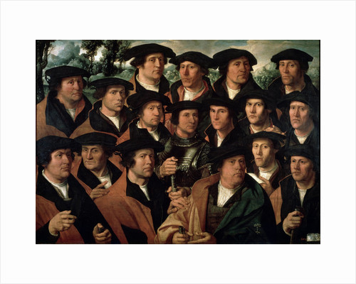 Group Portrait of the Amsterdam Shooting Corporation, 1532. by Dirck Jacobsz