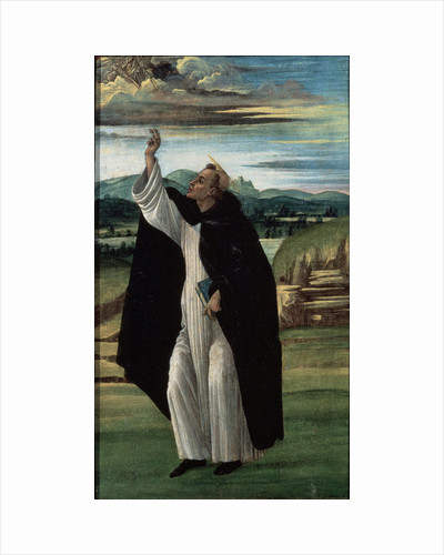 Saint Dominic, 1490s by Sandro Botticelli