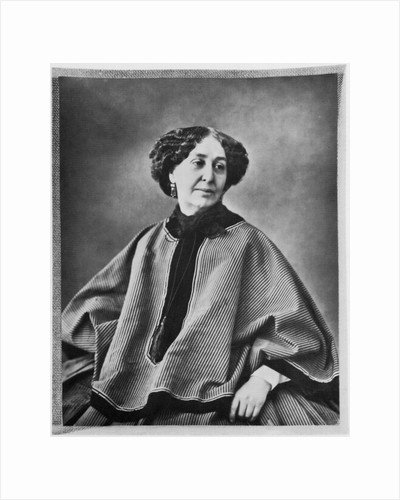 George Sand, French author, 1864 by Nadar