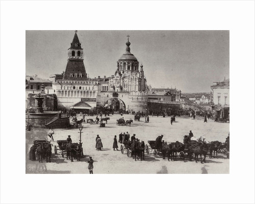 Lubyanka Square, Moscow, Russia, 1902 by Otto Kirchner