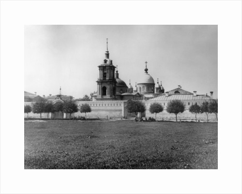 Monastery of the Protection of Our Most Holy Lady Theotokos, Moscow, Russia, 1882 by Scherer Nabholz & Co