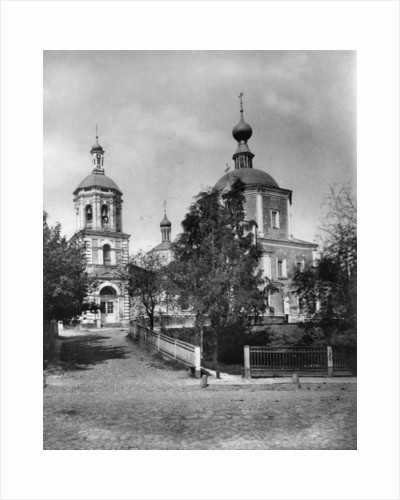 Church of St John the Warrior, Moscow, Russia, 1882 by Scherer Nabholz & Co
