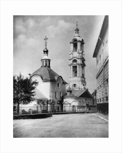 Church of the Protection of Our Most Holy Lady Theotokos, Kudrino, Moscow, Russia, 1882 by Scherer Nabholz & Co