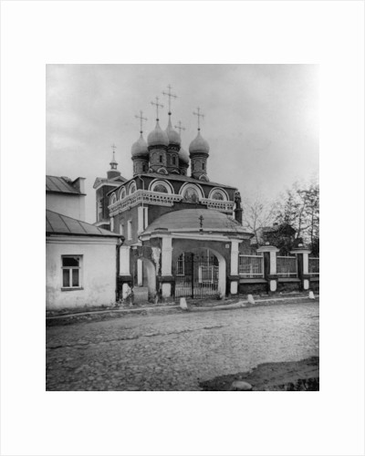Church of the Protection of Our Most Holy Lady Theotokos, near Ordynka, Moscow, Russia, 1881 by Scherer Nabholz & Co