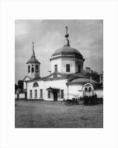 Church of the Protection of Our Most Holy Lady Theotokos, Gryazi, Moscow, Russia, 1881 by Scherer Nabholz & Co