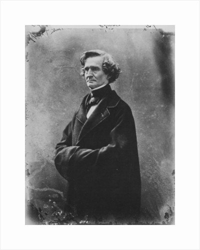 Hector Berlioz, French Romantic composer, c1863 by Gaspard-Felix Tournachon