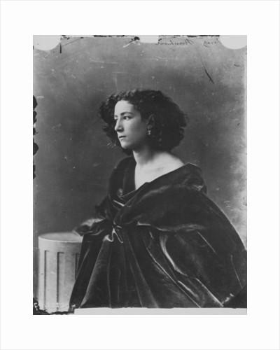 Sarah Bernhardt, French actress, c1865 by Gaspard-Felix Tournachon
