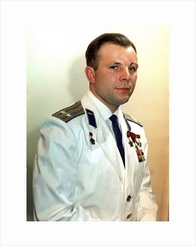 Yuri Gagarin, Russian cosmonaut, 1960s by Unknown