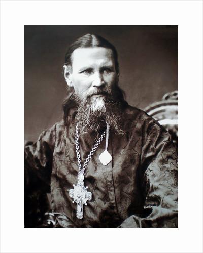 Saint John of Kronstadt, Russian priest, c1900 by Unknown