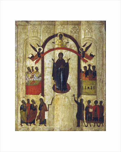 The Protection of the Mother of God (Pokrov), c1399 by Anonymous