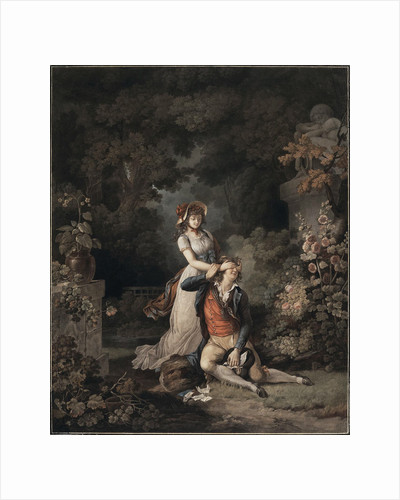 The Lover Caught Unawares, 1790s by Anonymous