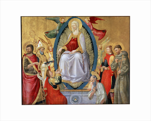 The Assumption of the Blessed Virgin Mary, 1464-1465 by Neri di Bicci
