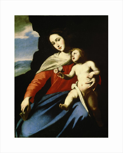 Virgin and Child, early 1640s by Massimo Stanzione