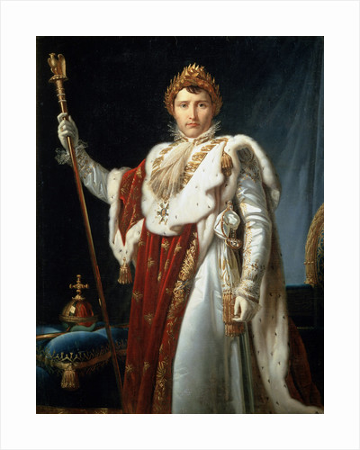 Portrait of Emperor Napoléon I Bonaparte by Francois Pascal Simon Gerard