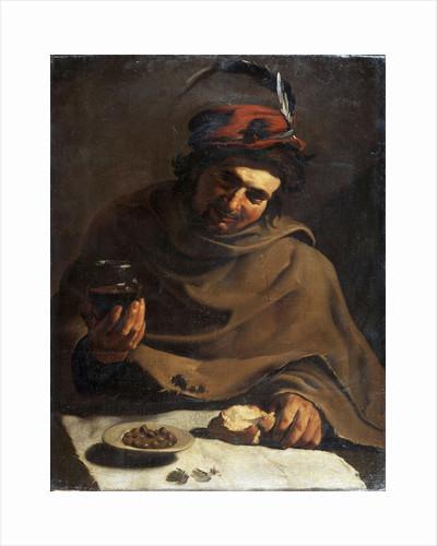 Breakfast, early 17th century by Bartolomeo Manfredi