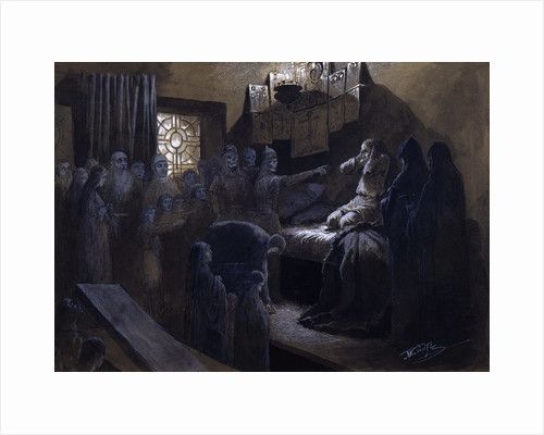 Ivan the Terrible and the Ghosts of His Victims, 19th or early 20th century by Mikhail Petrovich Klodt