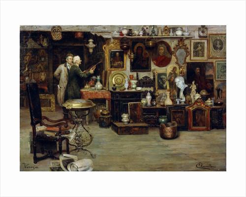 The Curiosity Shop', 19th century by Eduardo Vianella