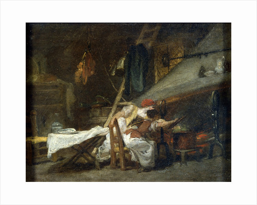 At the Stove, 18th or early 19th century by Jean-Honore Fragonard