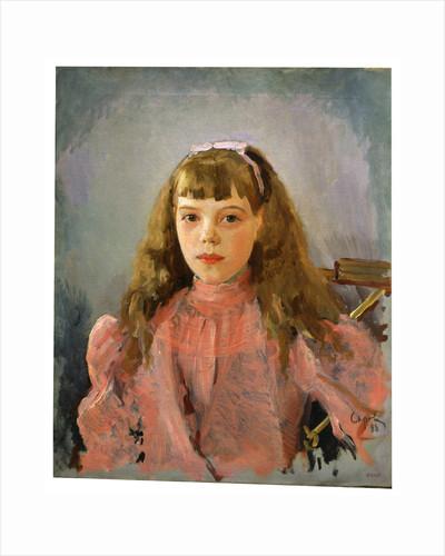 Portrait of Grand Duchess Olga Alexandrovna of Russia by Valentin Serov