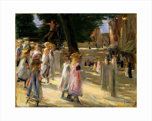 The Road to the School at Edam, 19th or early 20th century. by Max Liebermann