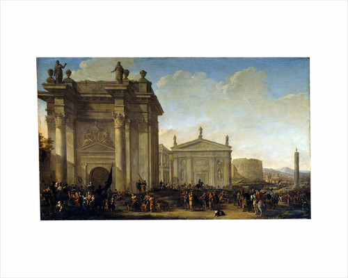 A Triumphal Procession, 17th or early 18th century by Willem van de Velde the Younger