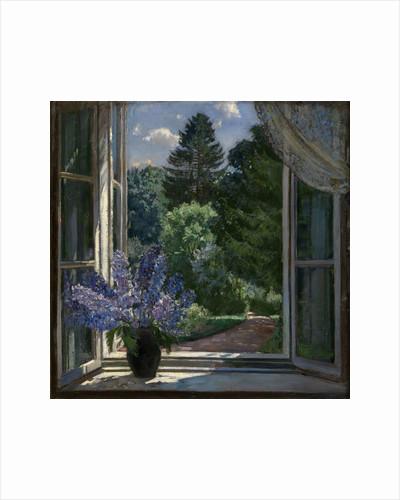 View from a Window, 1939 by Stanislav Yulianovich Zhukovsky