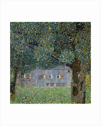Farm House in Buchberg by Gustav Klimt