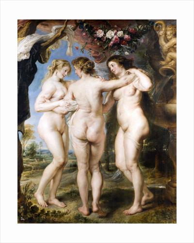 The Three Graces by Pieter Paul Rubens