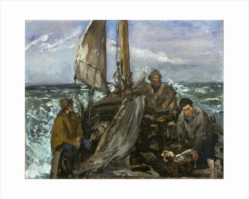 The Toilers of the Sea by Edouard Manet