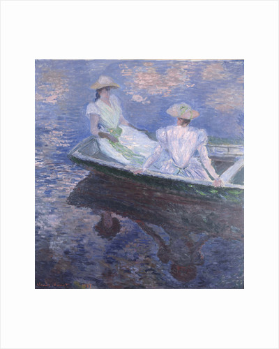 On the Boat, 1887 by Claude Monet