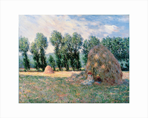 Haystacks, 1885 by Claude Monet