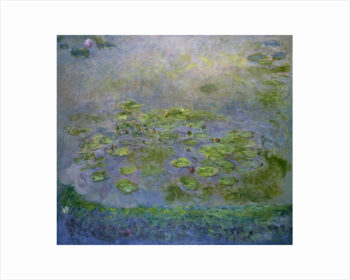 Water Lilies, 1914-1917 by Claude Monet