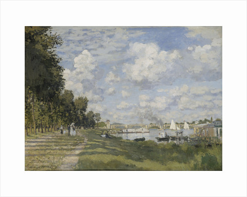 Le bassin dArgenteuil, 1872 by Claude Monet
