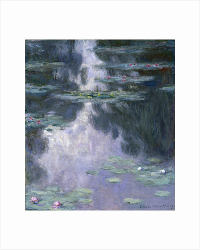 Water Lilies (Nymphéas), 1907 by Claude Monet