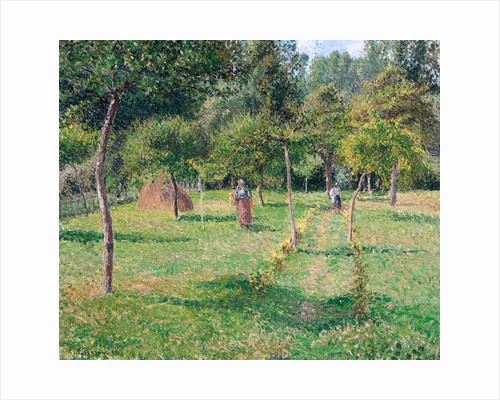 The Orchard at Éragny by Camille Pissarro