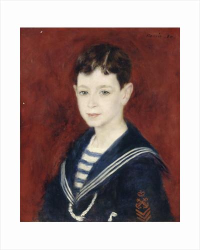 Fernand Halphen as a Boy by Pierre-Auguste Renoir
