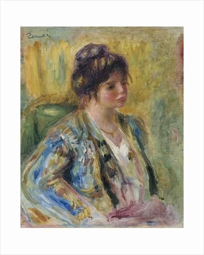 Buste de femme en costume oriental by Pierre-Auguste Renoir