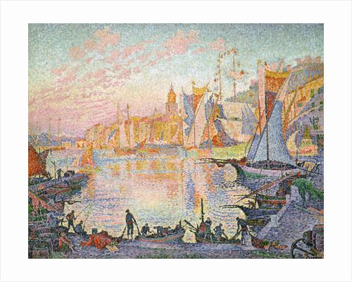 The Port of Saint-Tropez by Paul Signac