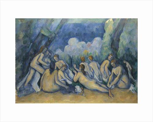 Bathers (Les Grandes Baigneuses), 1894-1905 by Paul Cézanne