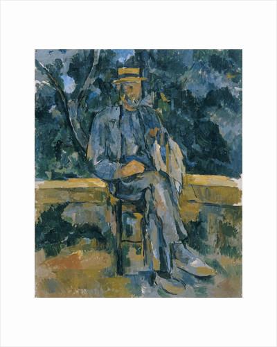 Portrait of Peasant, 1905-1906 by Paul Cézanne