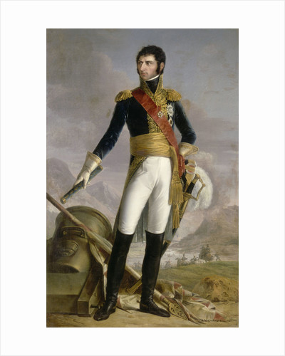 Portrait of Jean Baptiste Jules Bernadotte (1763-1844), Marshal of France, King of Sweden and Norway by Joseph Nicolas Jouy
