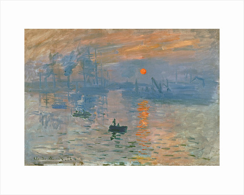 Impression, Sunrise (Impression, soleil levant), 1872 by Claude Monet