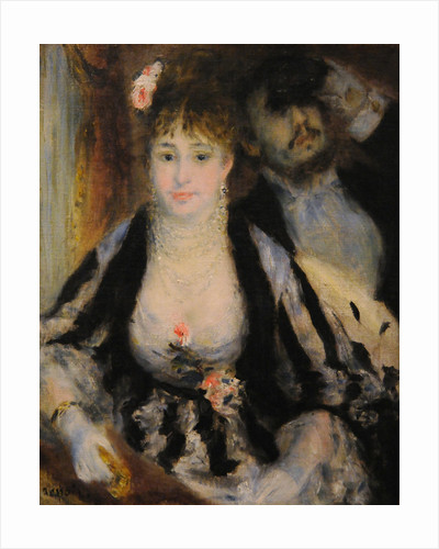 La Loge (The Theatre Box) by Pierre-Auguste Renoir