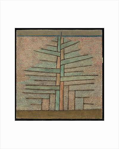 Pine tree, 1932 by Paul Klee