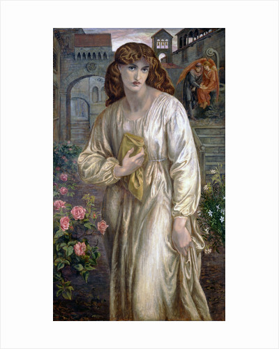 Salutation of Beatrice by Dante Gabriel Rossetti